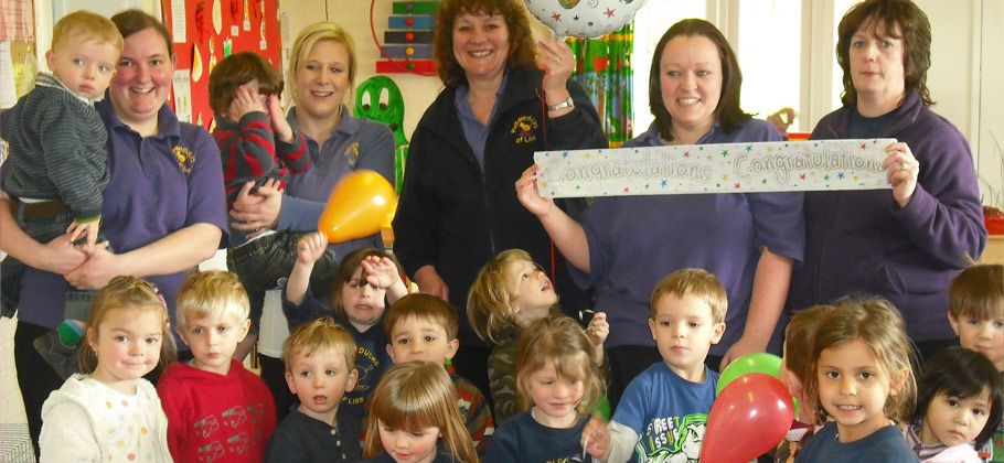 Puddleducks Nursery Wins Ofsted Award